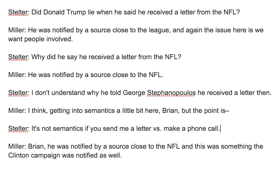 Full @brianstelter exchange is something. Trump lies about even pointless small things he knows can be fact checked. https://t.co/wxBFI1FASt