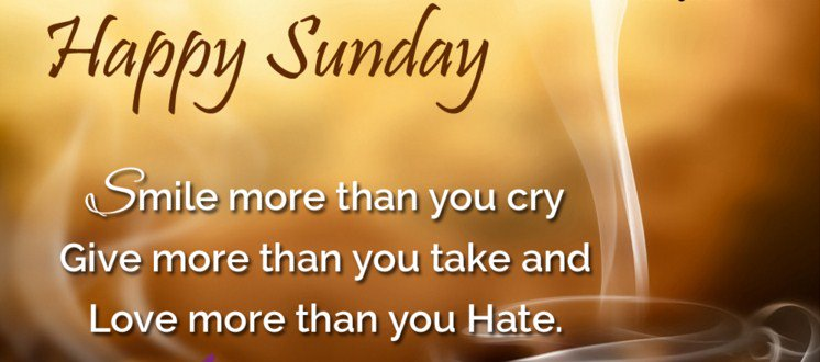 """CFCAA on Twitter: """"HAPPY SUNDAY 😆Smile more than you cry ..."""