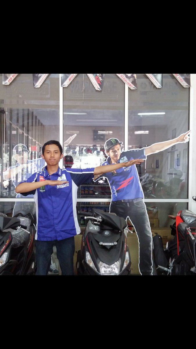 "@YamahaIndonesia ""aku bisa pergi ke Sepang karna Mio Z!""Kurniawan Wijayanto #zagoanselfie #aristacicaheum #bandung"