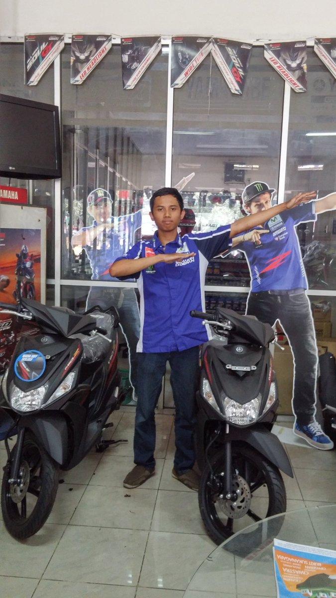 """@YamahaIndonesia """"aku bs jadi zagoan zuper karna Mio Z!""""Kurniawan Wijayanto #zagoanselfie #aristacicaheum #bandung"""