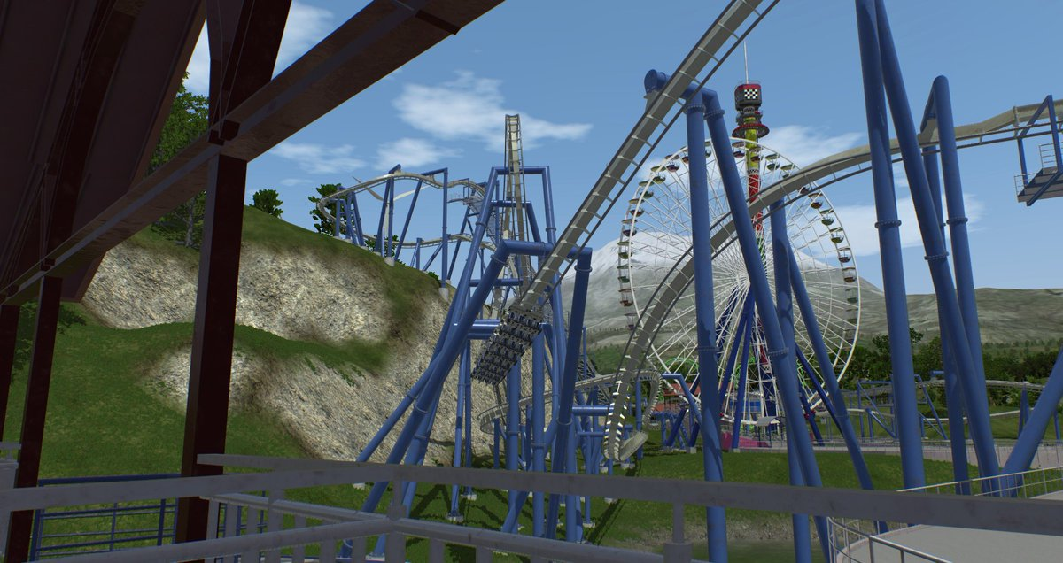NoLimits Roller Coaster Sim 🎢 on Twitter: