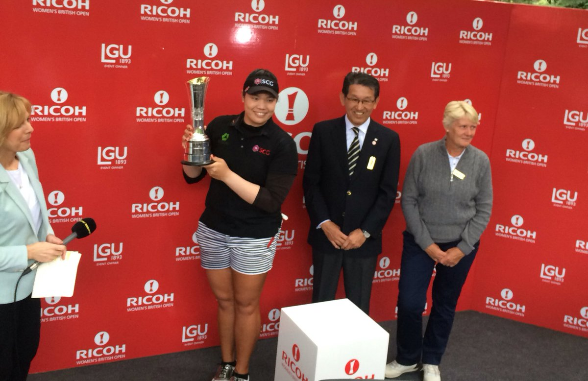 Congratulations to our champion! Ariya Jutanugarn