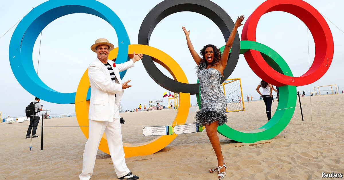The Olympic city has been in decline since the 1960s. The games will not change its direction