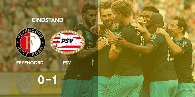 RT @KNVB: PSV wint voor de 11e keer de Johan Cruijff Schaal / Supercup! Gefeliciteerd Eindhoven!  #JCSchaal #FeyPSV https://t.co/eWxh7XFhlE