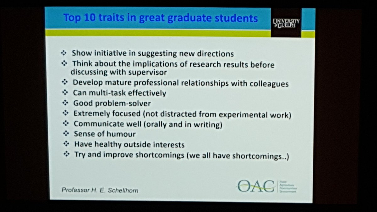 hillary figler hillarymfigler twitter iafp2016 top 10 traits of great grad students j farberpic twitter com lacum69vd2