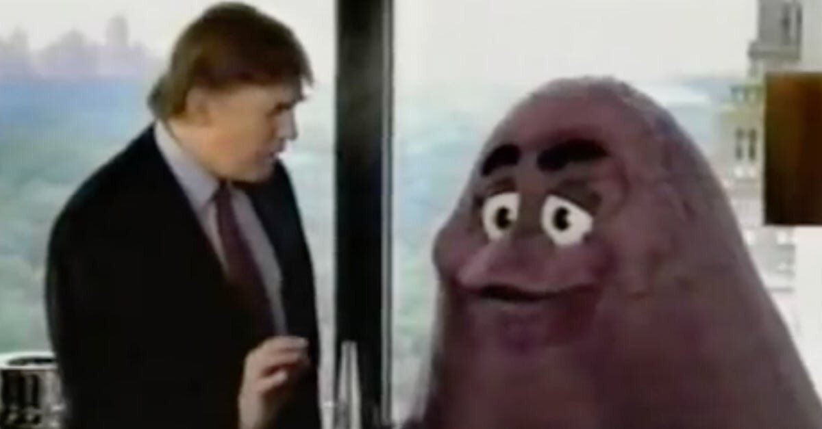 """If you look at Grimace, he was just sitting there. He had nothing to say. Maybe he wasn't allowed to."" https://t.co/PNWQjd1umj"
