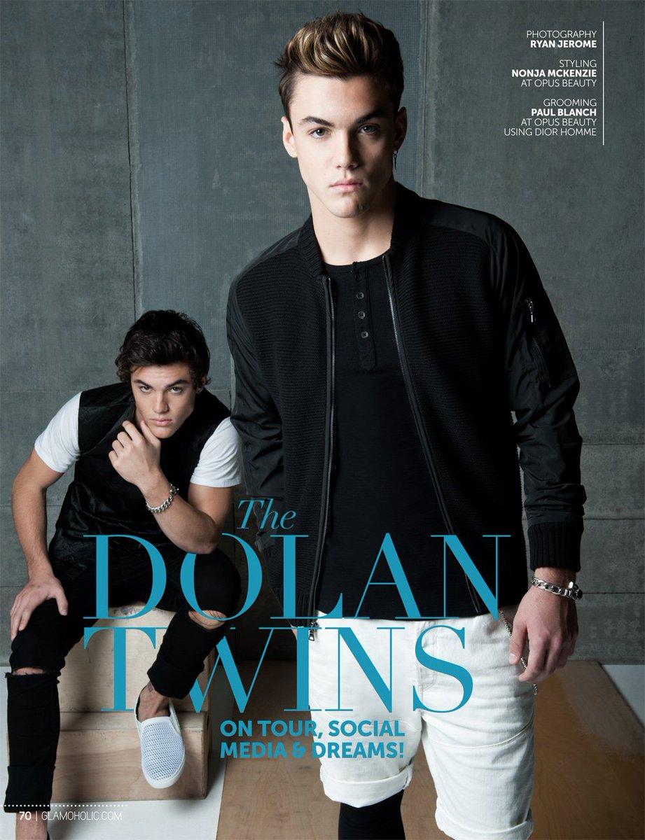 Exclusive - The Dolan Twins @GraysonDolan @EthanDolan on Tour, Social Media & Dreams! https://t.co/siTN5scWUQ https://t.co/6qMlZzQc3t