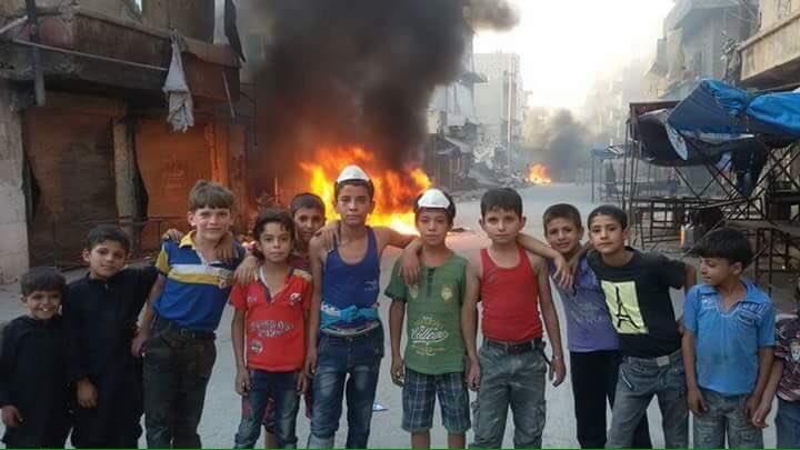 #حلب لن تسقط في أيادي المرتزقة! ابطالها ...اطفالها #ملحمة_حلب_الكبرى https://t.co/l8kTpqUOT1