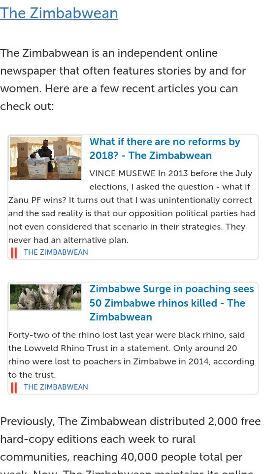 I knew The Zimbabwean was full of shit. It is funded by NED. https://t.co/MPn0qf3MDa