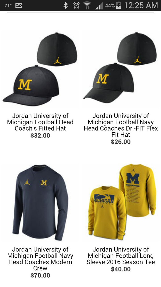 low priced 740dd caa9b ... czech sideline hat michigan jordan gear looking great for the second  the themden website was up