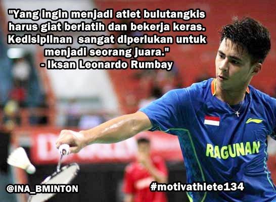 Indonesia Badminton On Twitter Motivathlete Dari Iksan Leonardo Rumbay Photo Https T Co Y1dnypieu6
