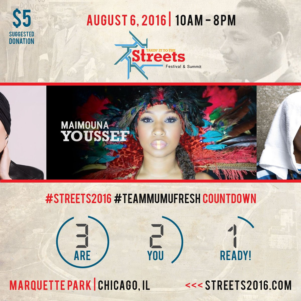 5 days away!! Chicago, you don't want to miss this monumental event #Streets2016 https://t.co/DY0jmz1dI5
