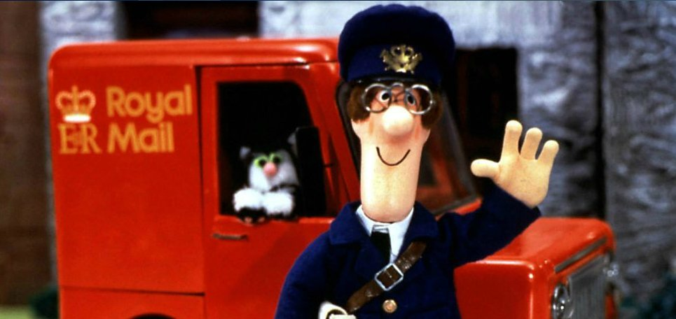 BBC posties pay tribute to Ken Barrie, the voice of Postman Pat in their own, inimitable way https://t.co/y2HPib7gon