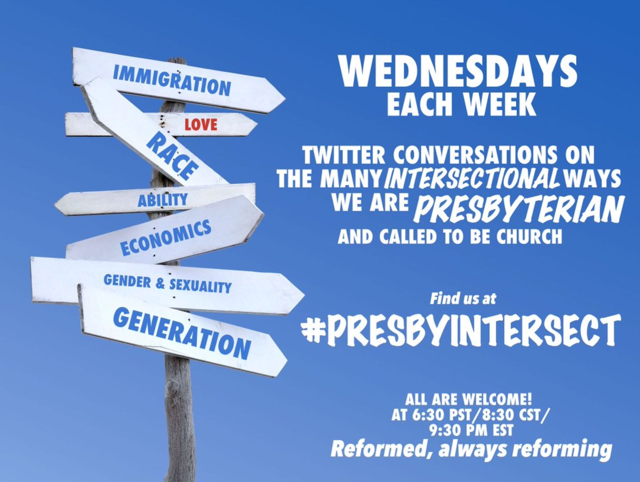 Just in - @jazzpastord will facilitate #PresbyIntersect this week! #PCUSA https://t.co/PoOQXCm6PD