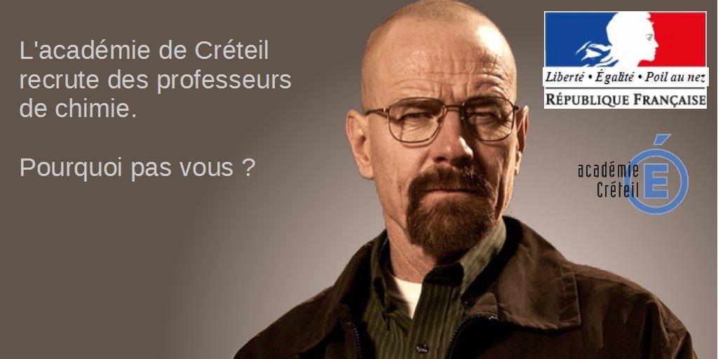 L'académie de Créteil n'a pas peur des clichés pour sa campagne de recrutement - Page 2 CoxImNUXEAAPqls