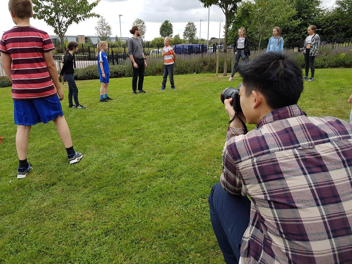 Capturing the @SmeatonAcademy Summer School for a highlight film!