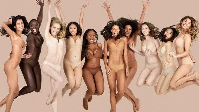 """""""肌色""""は人それぞれ違う…イメージを覆す下着に称賛の声 #社会 #海外 https://t.co/x03SZXl5ii"""