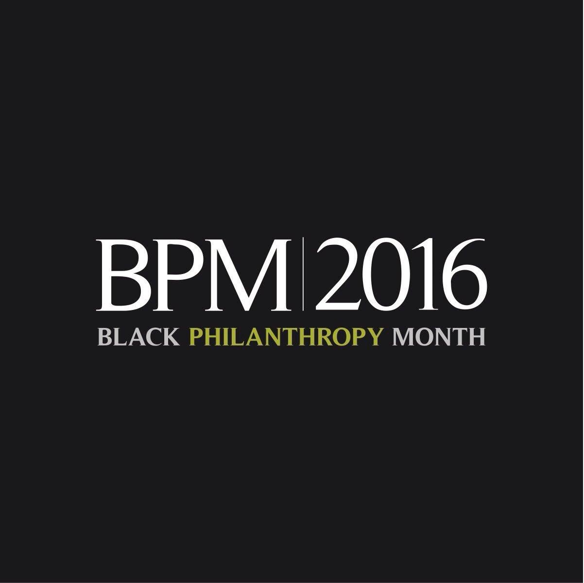 Happy Black Philanthropy Month! #BPM2016 #CHAGives https://t.co/jQ5PohdYNX