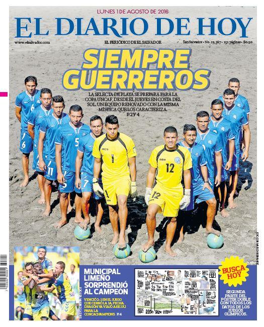 Torneo UNCAF 2016 en El Salvador. Cox_WwIVUAAajWL