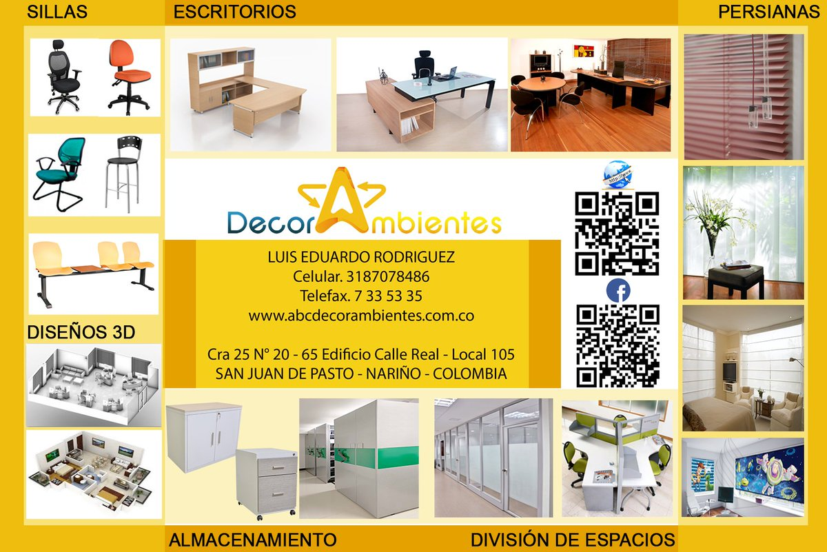 Decorambientes Abc_decor Twitter # Muebles Oficina Cox