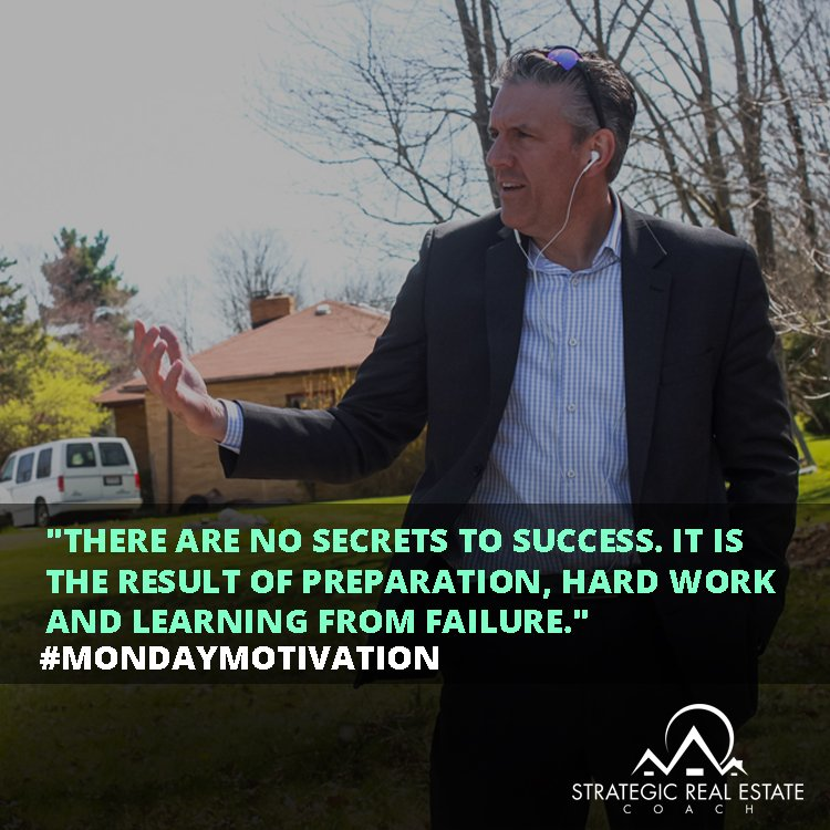 "People always ask ""What's the secret to success?"" or ""What's the catch?"" There isn't one. #MotivationMonday https://t.co/JsmftZMvAP"