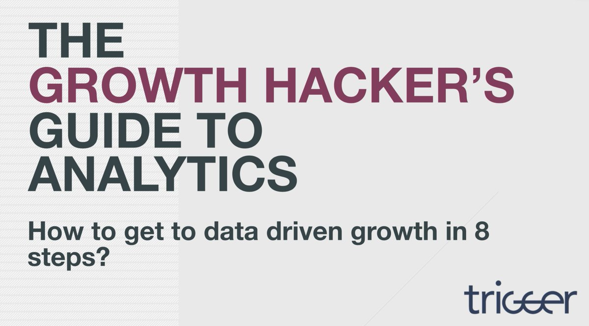 The #growth hacker's #guide to #analytics: https://t.co/mnHhxTwN4Y #growthhacking #marketing #data #presentation https://t.co/tU8pPVH41Y