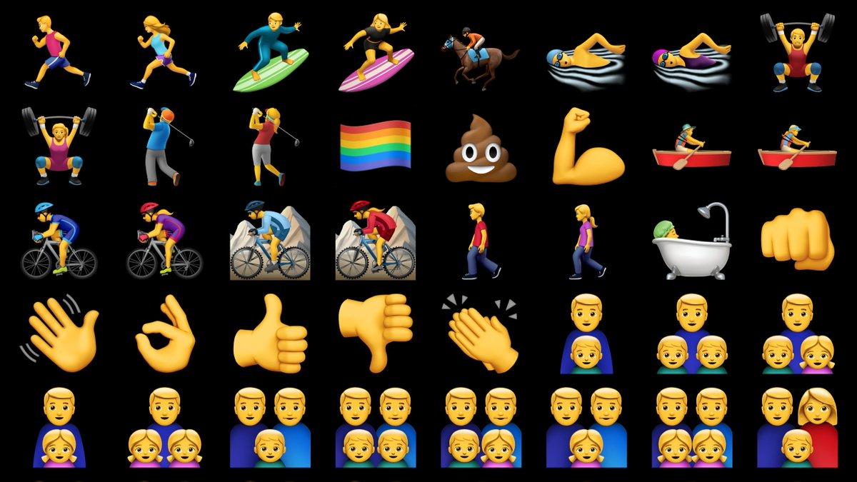 Sneak peek of all the new iOS 10 emoji… https://t.co/SeiYcabgok