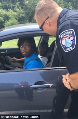 Mockery RT @DailyMail: Good cops pull over Virginia driver—and surprise her with ICE CREAM