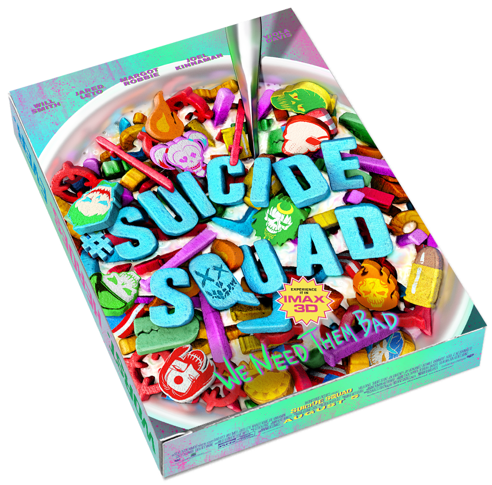 : Grab A Bowl Of #Squad With An @IMAX #SuicideSquad Mini