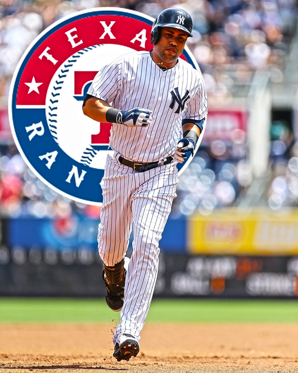 THIS JUST IN: Rangers agree to trade for Yankees OF Carlos Beltran. (via @Yahoo)