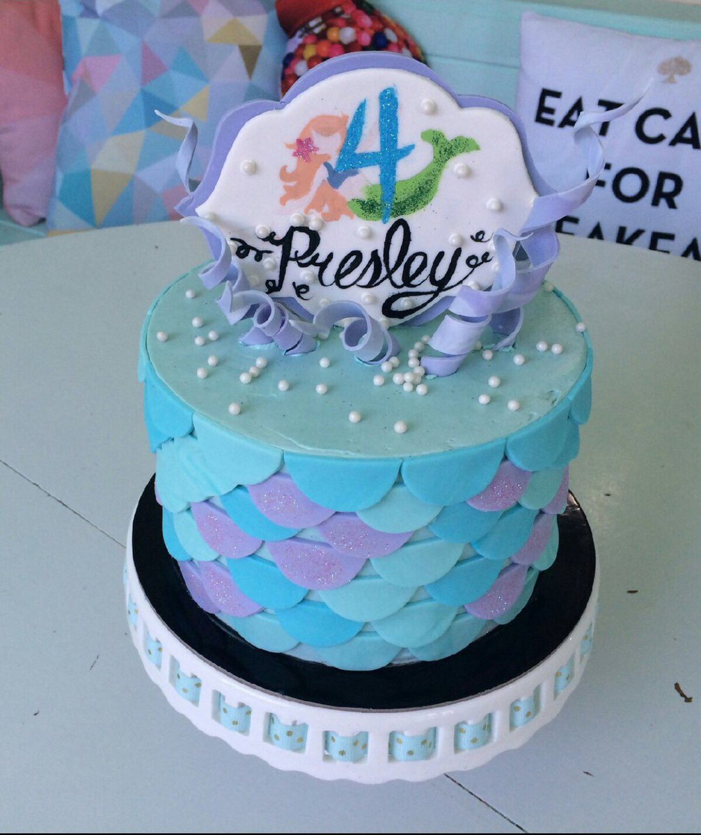 Outstanding Quacks Bakery On Twitter A Wonderful Mermaid Cake For A Very Personalised Birthday Cards Veneteletsinfo
