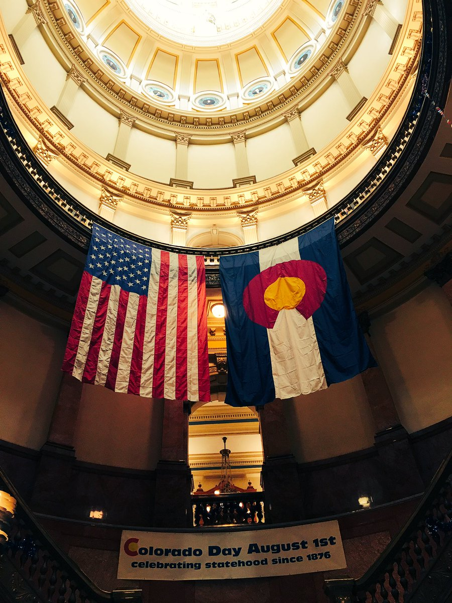 Today, our great state is 140 years young. Happy Birthday, Colorado! #ColoradoDay https://t.co/L1KR0nhXZ9