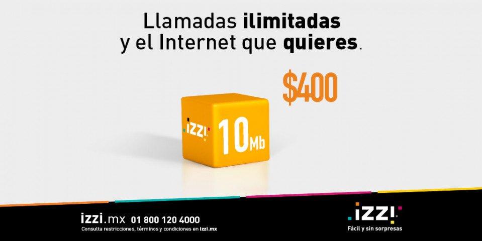 """izzi telecom on Twitter: """"¡El Internet de 10 Megas que ..."""