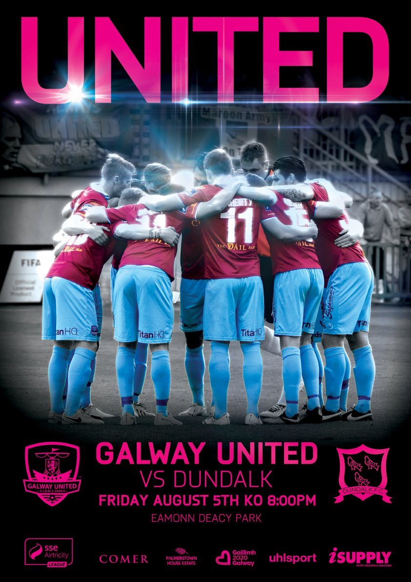 Poster design galway - Galway United Vs Dundalk Match Poster Design Pic Twitter Com Xbcm4wmyhx