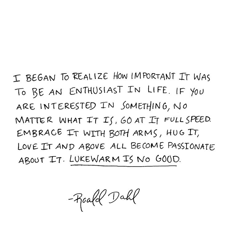 Here's some #MondayMotivation from the great @roald_dahl! https://t.co/27a4bqFF1v