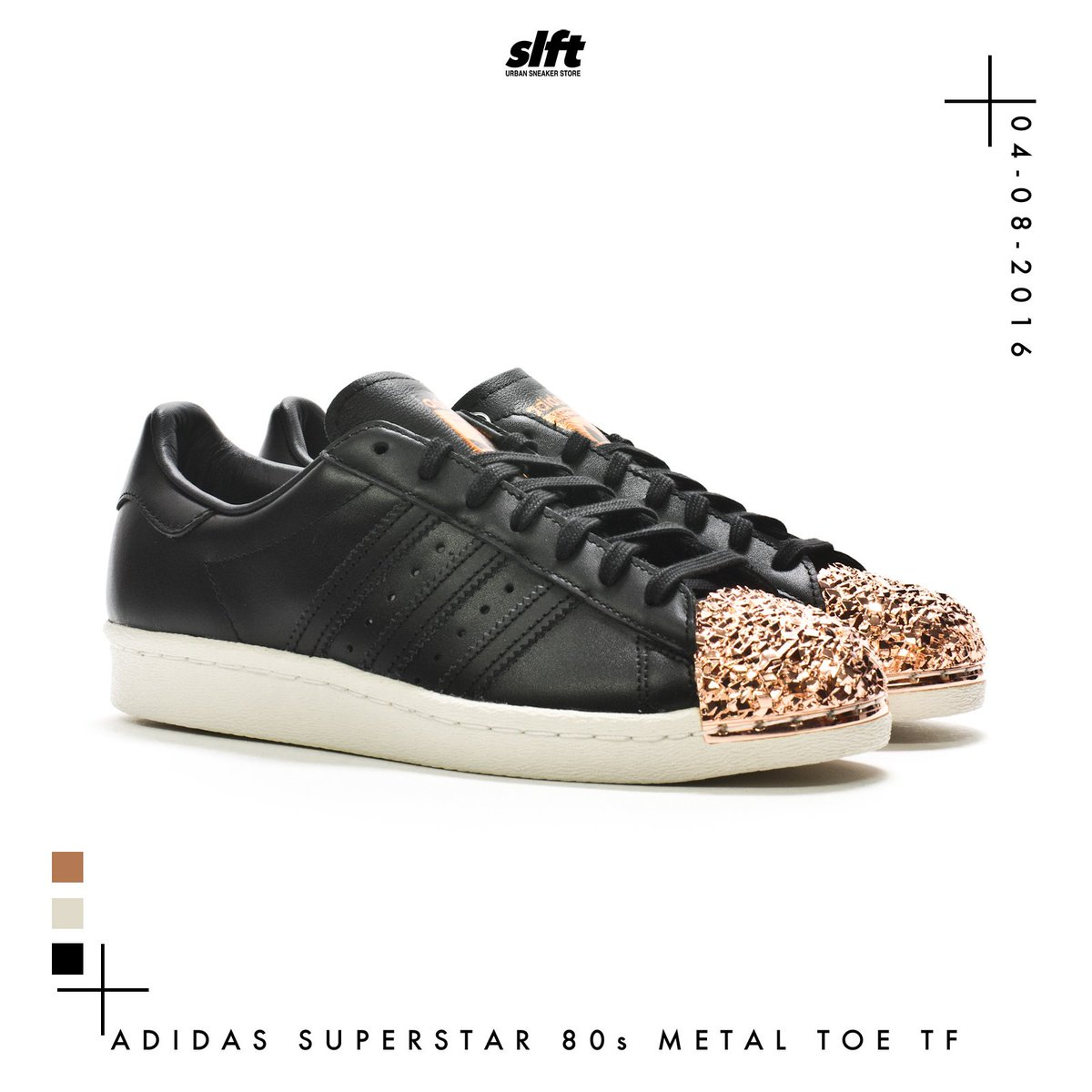 2016 Adidas Originals Superstar 80s Metal Toe Shoes For