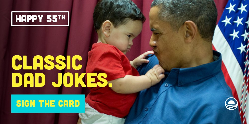 Barack Obama On Twitter 55 May Be Time For Some New Material