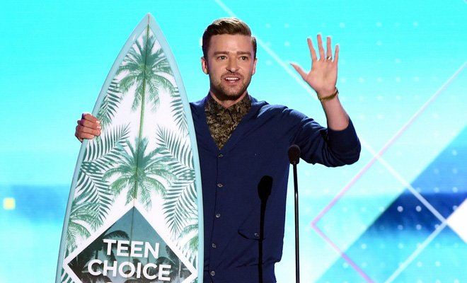 ganadores Teen Choice Awards 2016 - Justin Timberlake