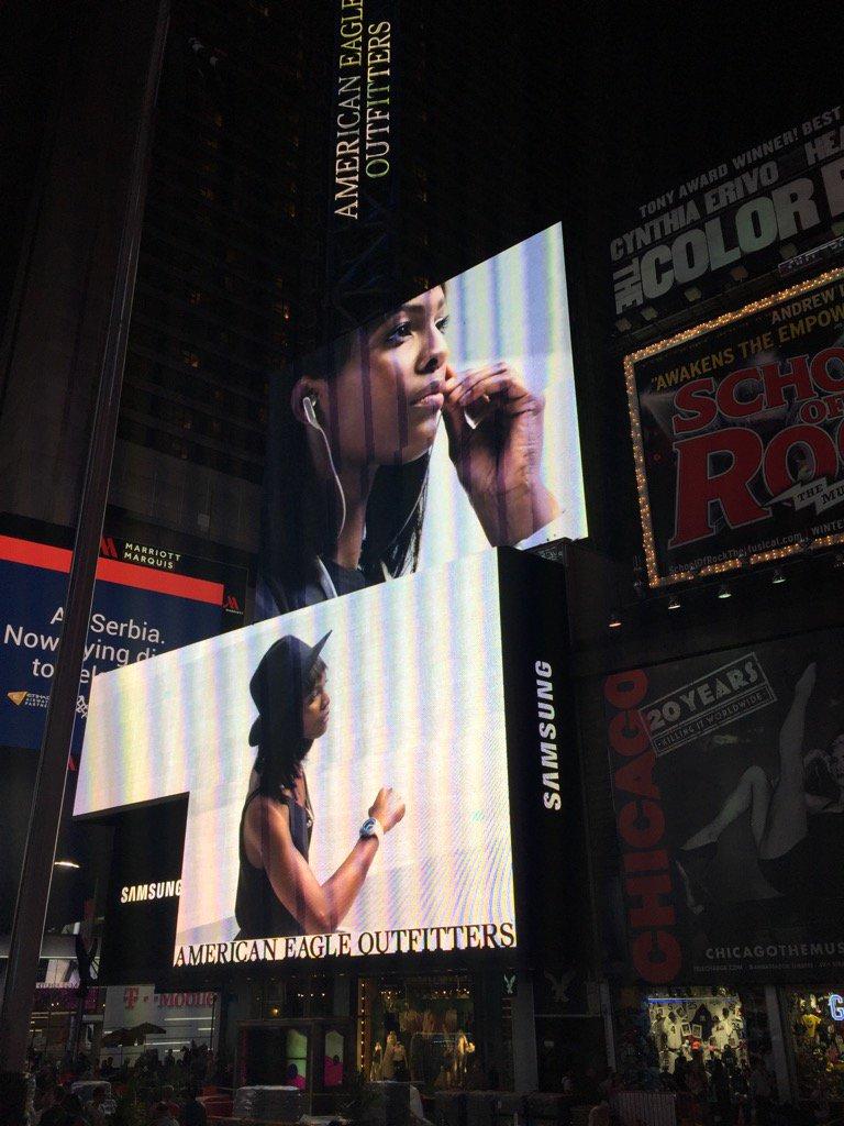 Mame Adjei  - Still up 🙈 twitter @MameAdjei4 ny,timessquare,billboard