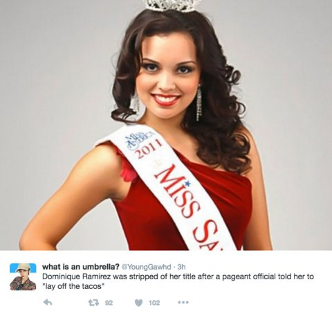 #MissTeenUSA won't lose her crown after tweets surfaced showing her using the n-word. Compare that to these women:
