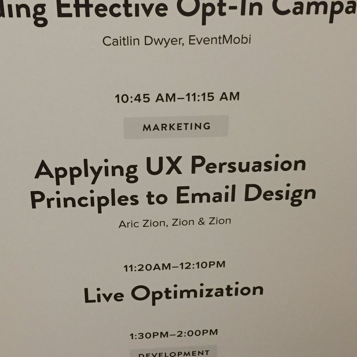 I'm on at 10:45am Eastern. Presenting here in Boston on behalf of @ZIONandZION at #TEDC16 #LitmusLive. https://t.co/O3UGfpeL2V