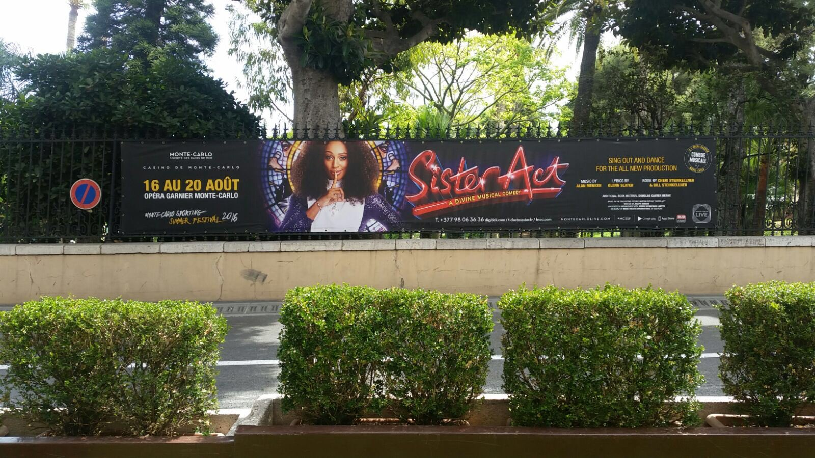 Ready to take on Monaco tonight!! @SisterActUKTour https://t.co/Rcz85i4kpg