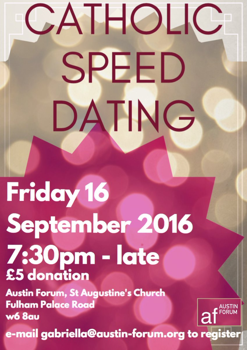 Catholic speed dating hammersmith