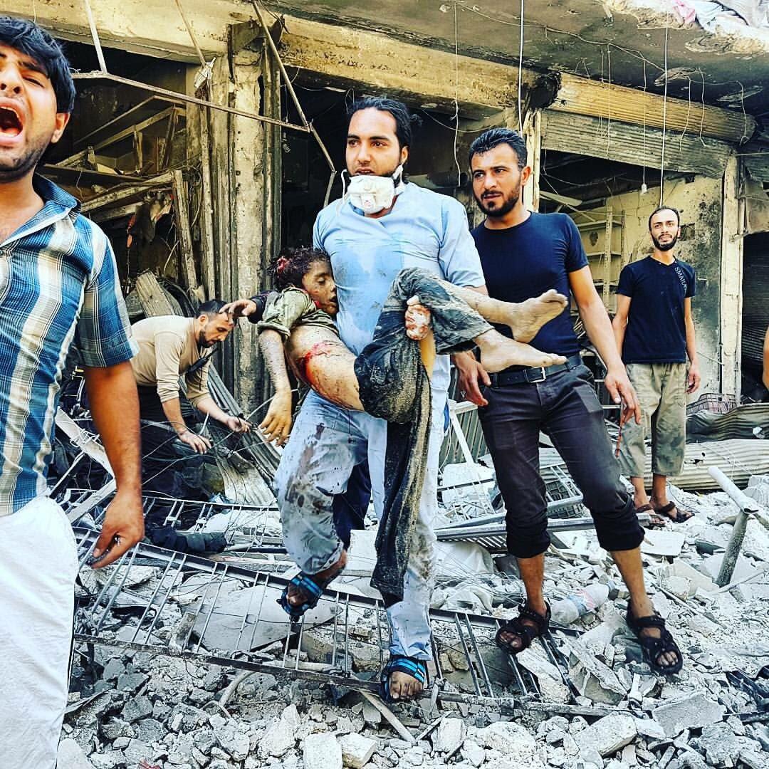 Армия Асада и военные РФ применяют зажигательные боеприпасы в Сирии, - Human Rights Watch - Цензор.НЕТ 1715