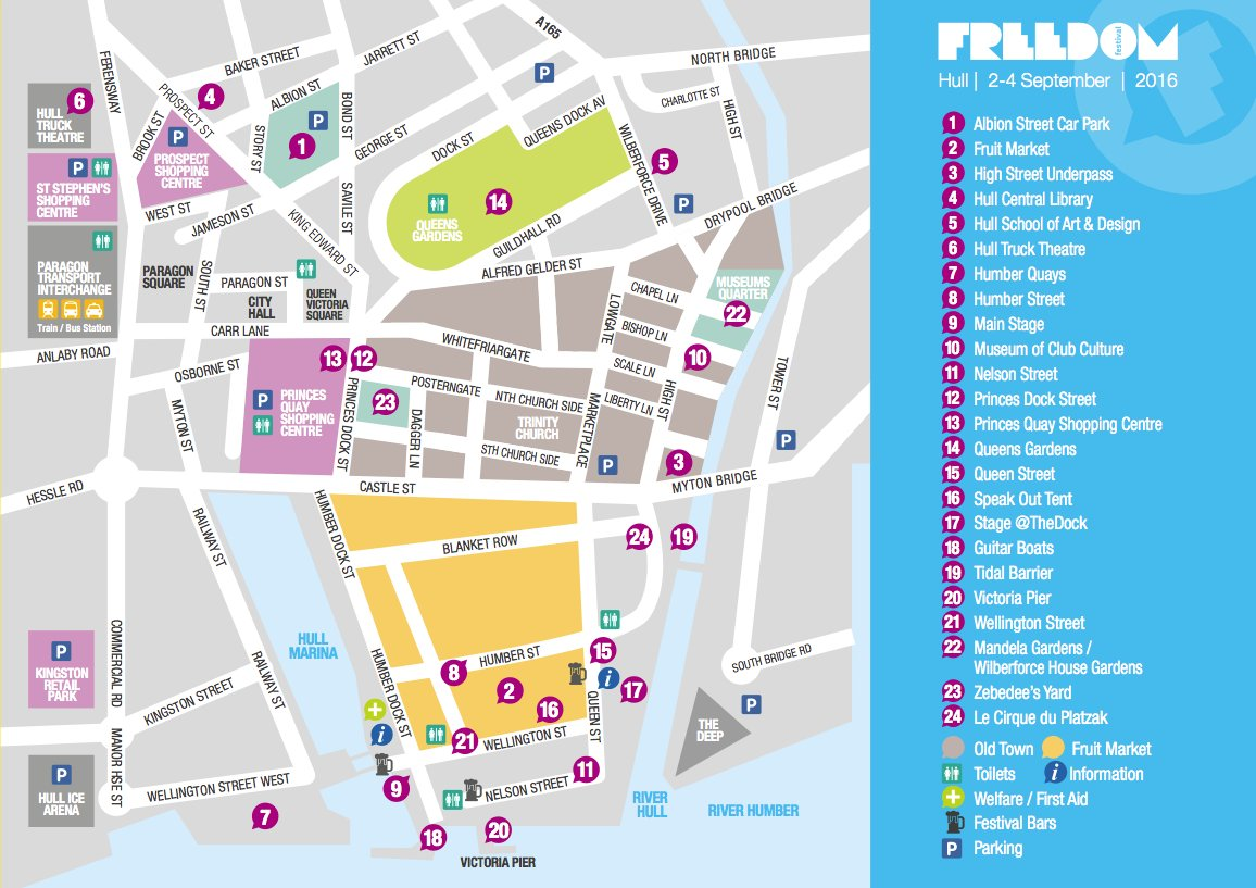 Freedom Festival Arts Trust on Twitter The 2016 festival map is