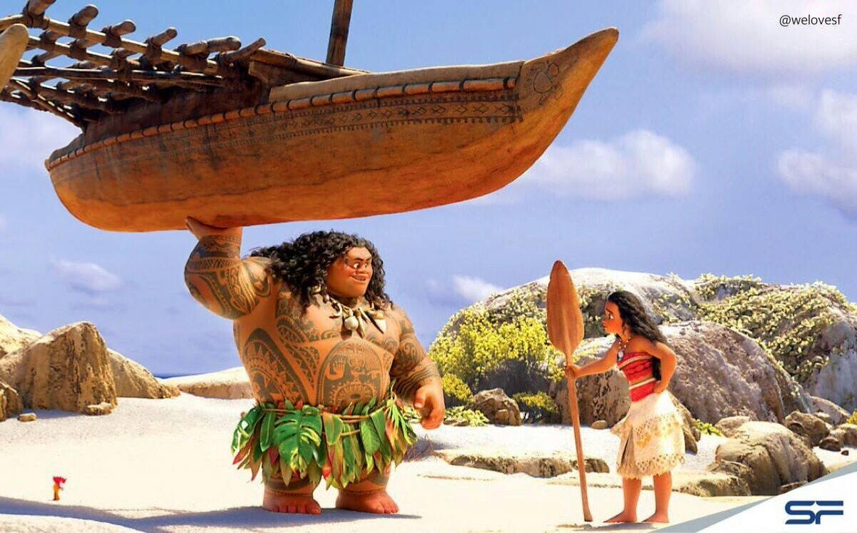 [Walt Disney] Vaiana, la Légende du Bout du Monde (2016) - Sujet d'avant-sortie - Page 4 Cp02SkyWgAA5nID
