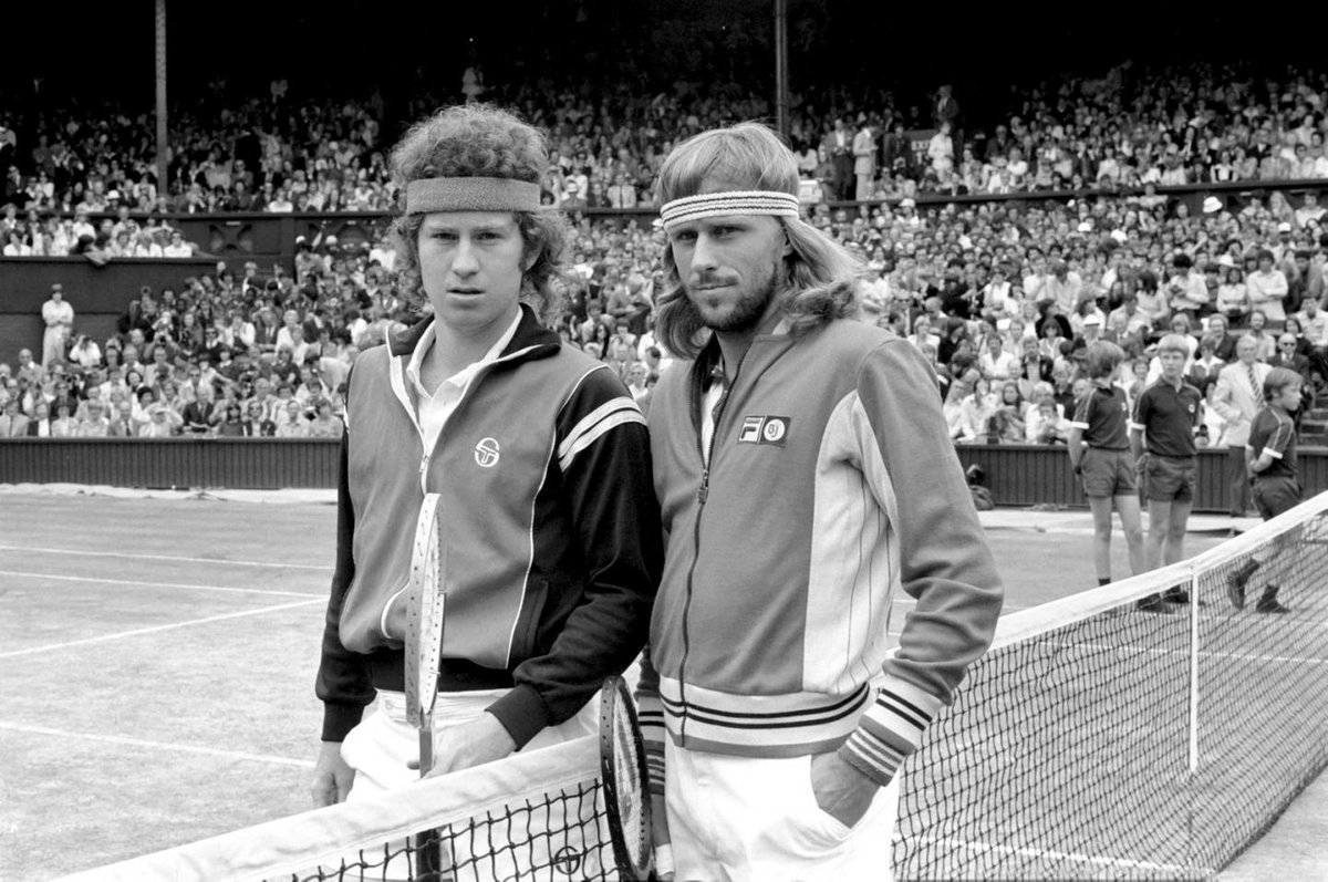 "Jot Down Magazine on Twitter ""Björn Borg and John McEnroe"