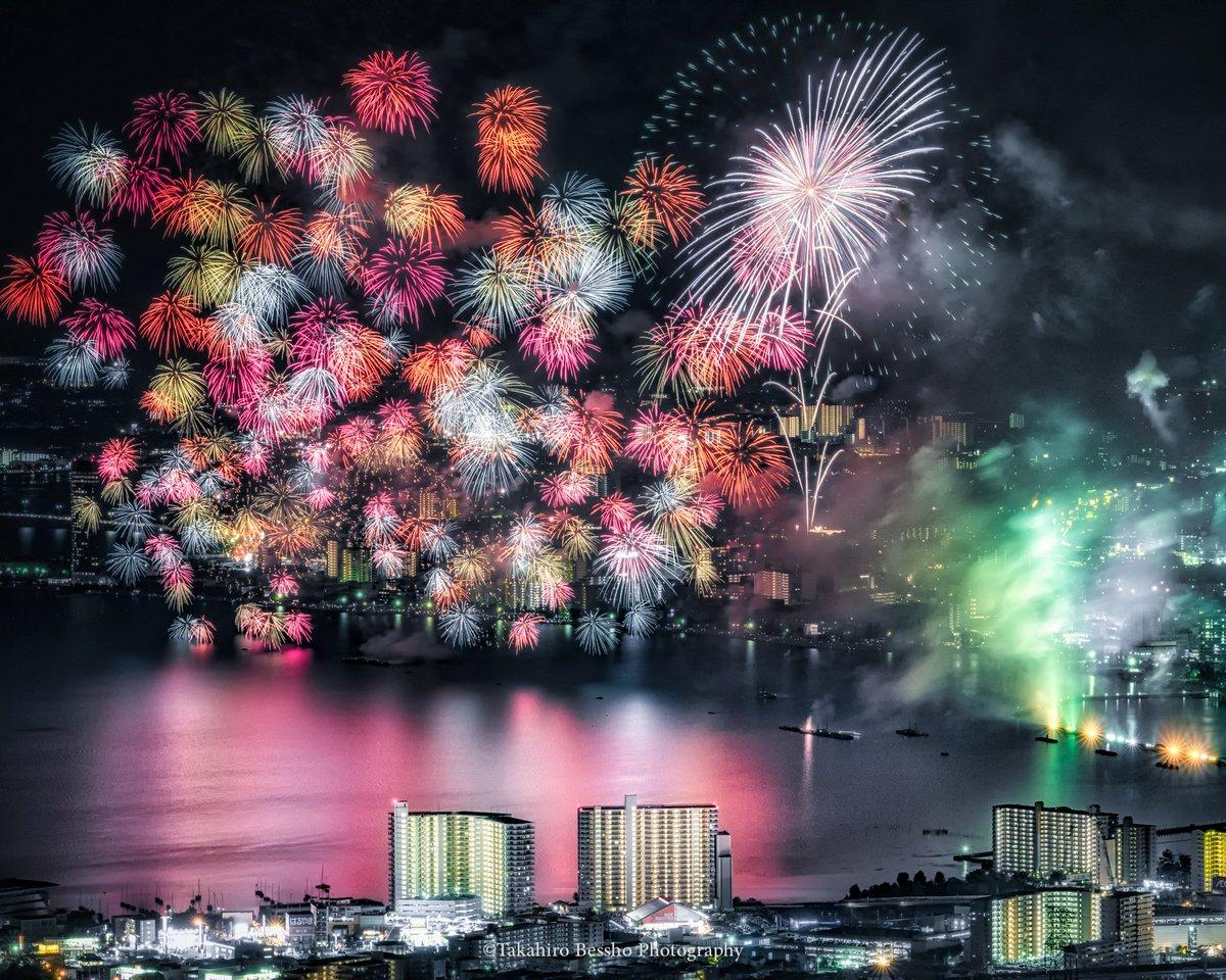琵琶湖 花火