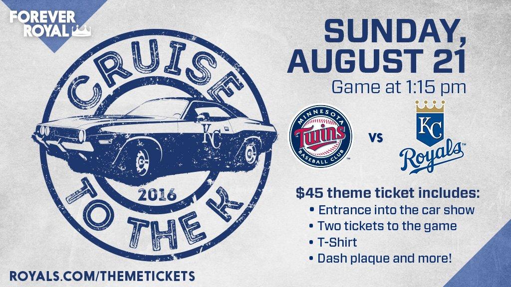 Kansas City Royals On Twitter CruiseToTheK On August Our - Car show kansas city today
