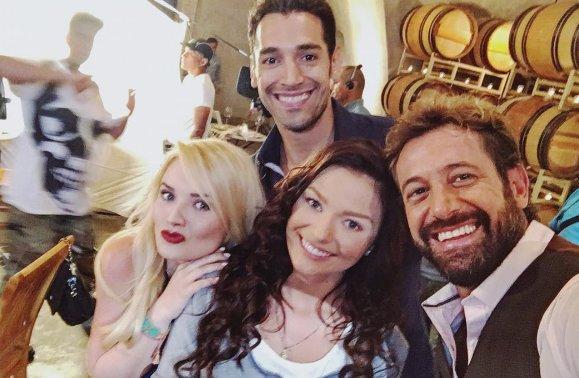 Irina Baeva Y At Gabrielsotomex Sacarán Chispas En La Telenovela Vino